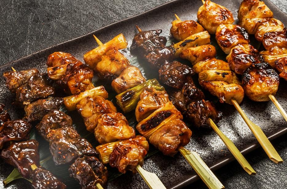 Makanan populer dari jepang yakitori